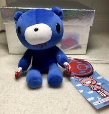 NEW NWT Gloomy Bear Blue Licky Fluffy Plush Toy CHAX Colony Taito Japan Bloody