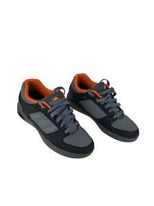 Heelys Motion - Men Size 8 - Grey/Orange - Skate Shoes Roller - Style: #7749