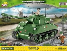 COBI Sherman Firefly  /  2515 /  500 blocks  WWII US tank