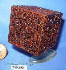 Star Trek Micro Machines BORG CUBE Bronze Color with Stand