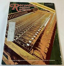 New listing October 1976 Recording Engineer Producer~ Alan Parsons