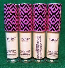 4X Tarte Shape Tape ~ Contour Concealer ~ Fair Neutral ~ 0.0338 oz ea ~ LOT of 4