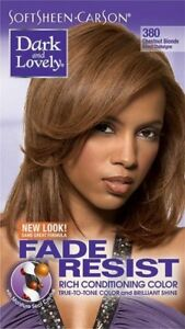DARK&LOVELY Fade Resist Rich Conditioning Hair Color #380 Chestnut Blonde