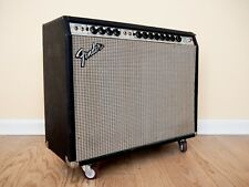 1975 Fender Twin Reverb Vintage Silverface Tube Amp 2x12, Serviced