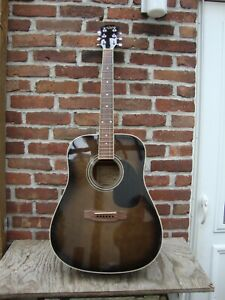 Carlo Robelli  Acoustic Electric Guitar Complete With TKL Zippered Case