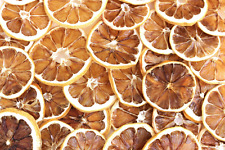 Dried Lemon Slices - USA Organic California Grown (2-1/2 oz.)