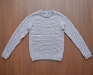 S.N.S Herning Mens Knitted Sweater Pullover sz L