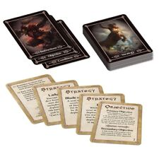 Kings of War TACTICS DECK 2018 Battlefield Cards Supplement PREORDER KoW Mantic