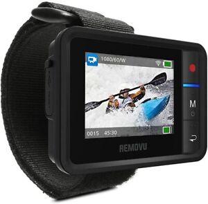 Removu REMOVU R1+ (Plus) Waterproof (IPX7) Wireless Remote Viewer for GoPro4/5/6