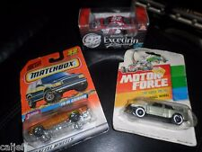 (3) CAR LOT BMW MOTOR FORCE MATCHBOX #32 1970 EL CAMINO EXCEDRIN #92 NASCAR