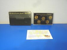 2000 P and D Statehood Quarter Collection,5 Coin Gold Edition Commemorative Set