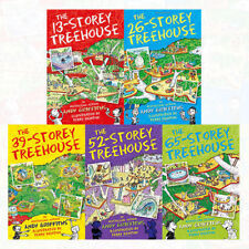 The 13-Storey Treehouse Set Collection 5 Books Set By Andy Griffiths