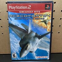 Ace Combat 04: Shattered Skies (Sony Playstation 2, 2001) - Complete, Tested PS2