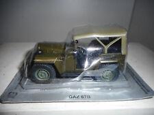 GAZ-67B USSR JEEP POLONIA CARS DeAGOSTINI IXO 1:43