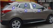 HYUNDAI İX-35 2010-2015 Chrome Windows Full Trim Cover 10PCS S.Steel