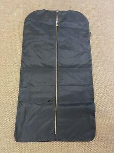 Louis Vuitton Black Nylon Garment Bag / Cover Travel Luggage Accessory