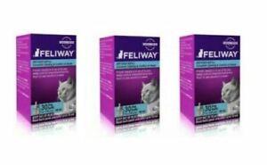 Feliway CLASSIC Diffuser 3 Refills    expdts  are  all 11/01/2024