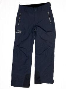 Marmot Men's M Membrain Snow Snowboarding Ski Pants Black EUC