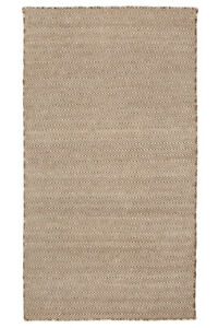 Herringbone Beige and Ivory Indoor Outdoor Rug Modern Area Rug Soft Carpet