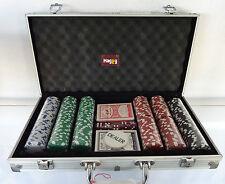 mallette de poker malette 300 jetons 11,5grammes carte plastique valise alu jeux