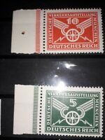 Weimar Republic/German Empire 1925 Michel 370/371 MNH **, margins. Free UK P&P.