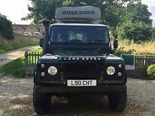 L90cht-LAND ROVER 90 County HARD TOP. Cherished / Personalizzata Targa