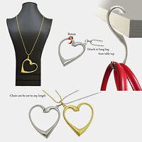 The Necklace-Handbag Hook (Gold / Sliver)