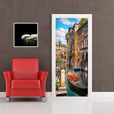 PT0211 Wall Stickers Adesivi Murali Adesivo Porta casa decoro Venezia 100x210 cm