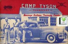 CD File Camp Tyson - Barrage Balloon Training Center - View it on your Tablet!