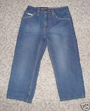 Calvin Klein Jeans Girls Size 4 Loose Baggy Fit Straight Leg NWT $32