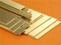 Albion Alloys BS7M - 4 x 6mm W x 0.8mm T x 305mm Lengths Brass Strip New Pack