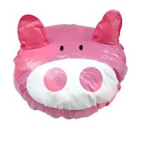 3D Travel Shower Cap Animal Funny Hair Waterproof Elastic Bath Hat