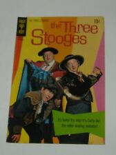 December 1970 GOLD KEY COMICS The THREE STOOGES #49 PHOTO COVER CURLY-JOE HUMOR