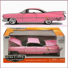 1959 Cadillac Coupe De Ville Die-cast Car 1:24 scale JADA BIGTIME KUSTOMS PINK