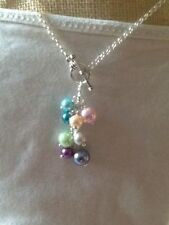 Handmade Pearl Cluster Costume Necklaces & Pendants