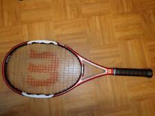 Wilson Ncode N Fury TWO 100 head 16x20 4 1/2 grip Tennis Racquet