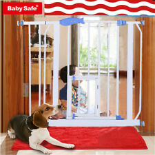 Safety Gates Baby Stair Fence Barrier Pet Dog Gate Door Guardrail Isolation F5