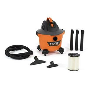 NEW RIDGID 9 Gal. 4.25-Peak HP Wet/Dry Shop Vacuum with Filter, Hose and Access
