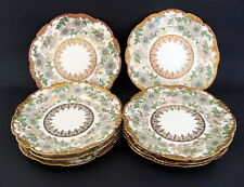 "8 Antique Pouyat Limoges France 6"" Dessert Plates Wanamaker Early 1900s"