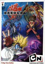 Bakugan, Vol. 6: Time for Battle (2010, REGION 1 DVD New)