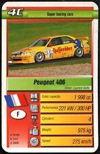 Peugeot 406 - Motor Sport Trumps Card (C426)