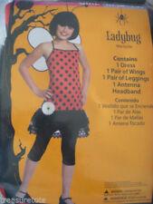Girls Size Medium 8-10 * Ladybug * Costume Nwt / Nip Beetle