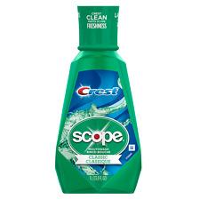 Crest Scope Classic Mouthwash Original Formula 33.8 oz