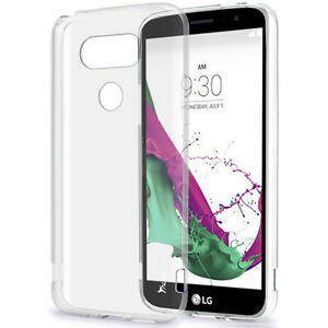 Tpu Transparent Case and Glass Screen Protector for LG G5