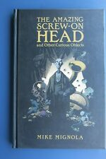THE AMAZING SCREW-ON HEAD AND OTHER CURIOUS OBJECTS HC DARK HORSE 1ST RARE OOP