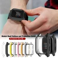 For Garmin Venu SQ Watch Protective Case All-inclusive Cover TUP Electroplating