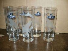 6 verres tubo eristoff loup