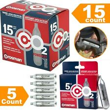 CO2 Cartridge Airsoft Gas Gun Pellet BB Pellets 12 Gram Crosman CO2 Cartridges