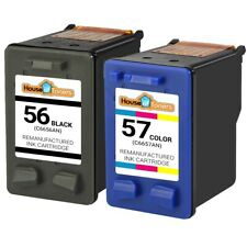 HP 56 57 Black/Color Ink for Officejet 4110 4215 5505 5510 6105 6110