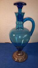 Wunderschöne Antike-Glas-Karaffe um 1910